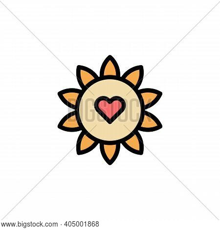 Mothers Day Flower Outline Icon. Element Of Mothers Day Illustration Icon. Signs And Symbols Can Be