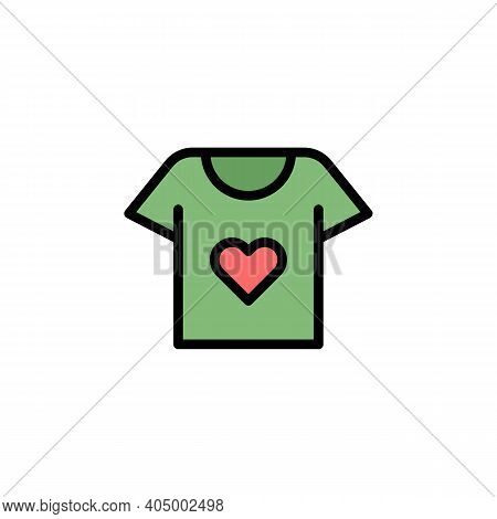 Mothers Day Shirt Outline Icon. Element Of Mothers Day Illustration Icon. Signs And Symbols Can Be U