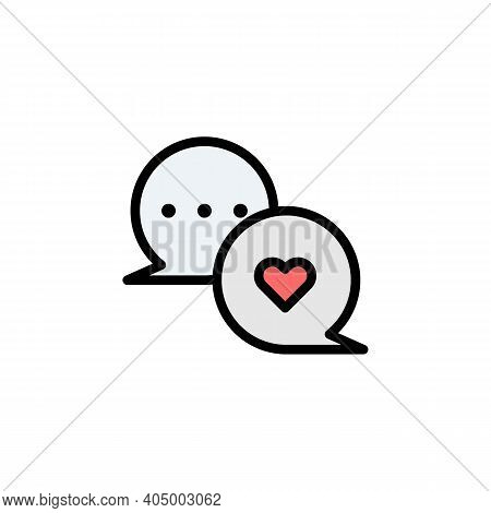 Mothers Day Chat Bubble Outline Icon. Element Of Mothers Day Illustration Icon. Signs And Symbols Ca