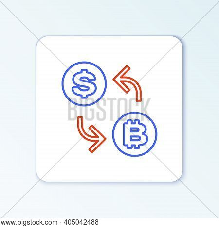 Line Processor Chip With Dollar Icon Isolated On White Background. Cpu, Central Processing Unit, Mic