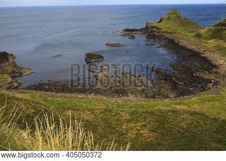 Ulster (ireland), - July 20, 2016: The Giant's Causeway Coast On The North Coast Of County Antrim, N