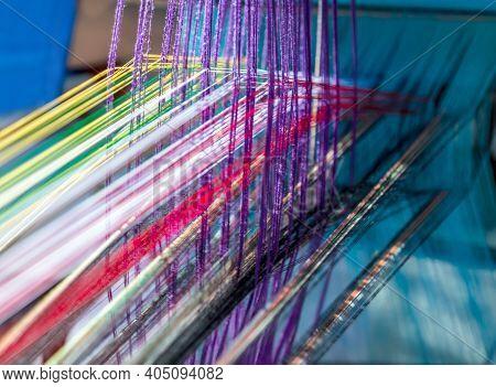 National Handloom Day Home Decor, Manual Loom Hand Weave.