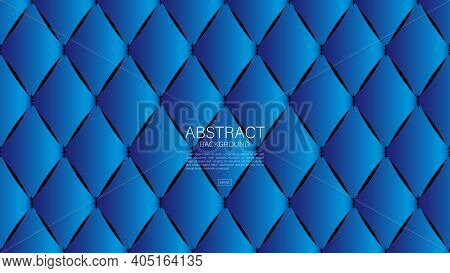 Blue Abstract Background, Polygon Background, Geometric Backgrounds Vector, Graphic, Minimal Texture