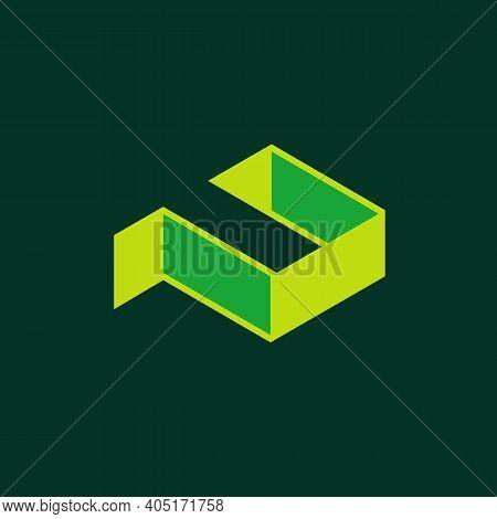 3d Letter P Logo Icon Design, Modern Logomark Symbol
