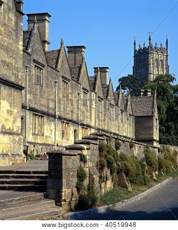 Almshouses, Chipping Campden, England.