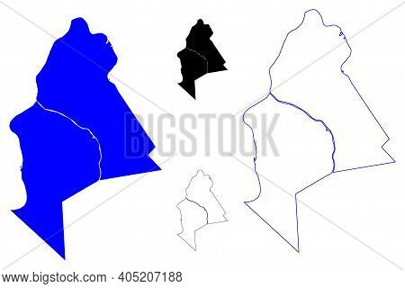 Mason County, State Of West Virginia (u.s. County, United States Of America, Usa, U.s., Us) Map Vect