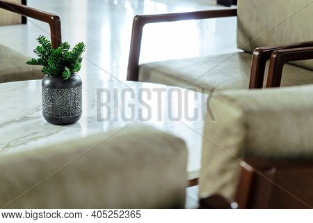 Detail Of Modern Living Room, Interior Decoration