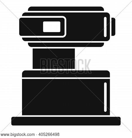 Modern Magnetic Resonance Imaging Icon. Simple Illustration Of Modern Magnetic Resonance Imaging Vec