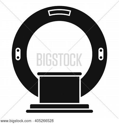 Magnetic Resonance Imaging Diagnostic Icon. Simple Illustration Of Magnetic Resonance Imaging Diagno