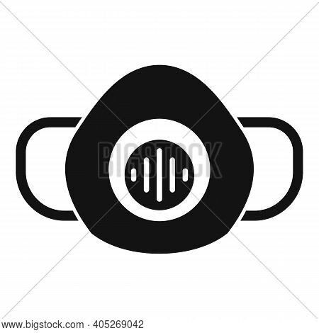 Biohazard Mask Icon. Simple Illustration Of Biohazard Mask Vector Icon For Web Design Isolated On Wh