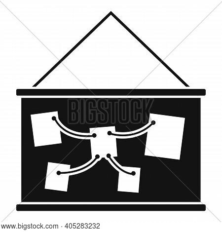 Investigator Wall Banner Icon. Simple Illustration Of Investigator Wall Banner Vector Icon For Web D