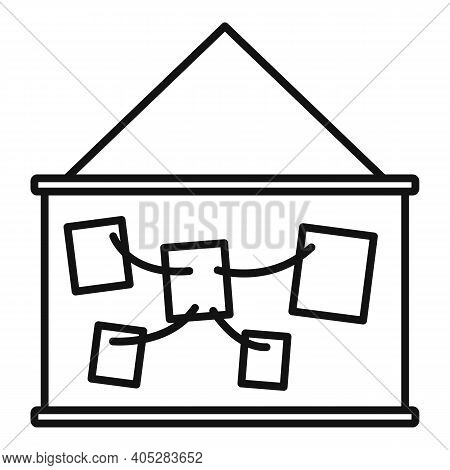 Investigator Wall Banner Icon. Outline Investigator Wall Banner Vector Icon For Web Design Isolated