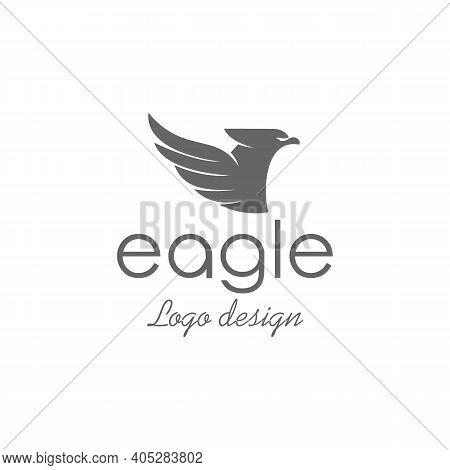 Eagle Logo Design , Abstract Eagle Logo Design Template, Eagle Logo Vector