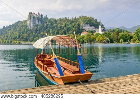 Lake Bled (blejsko Jezero) Is A Glacial Lake In The Julian Alps In Northwestern Slovenia, Where It A