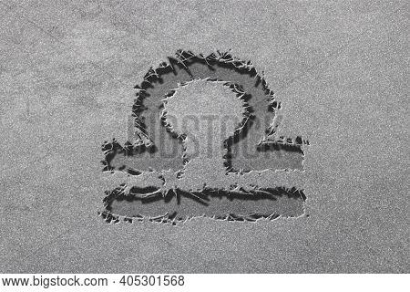 Libra Zodiac Sign, Rugged Silver, Horoscope Astrology Background, Libra Horoscope Symbol, Silver Hor