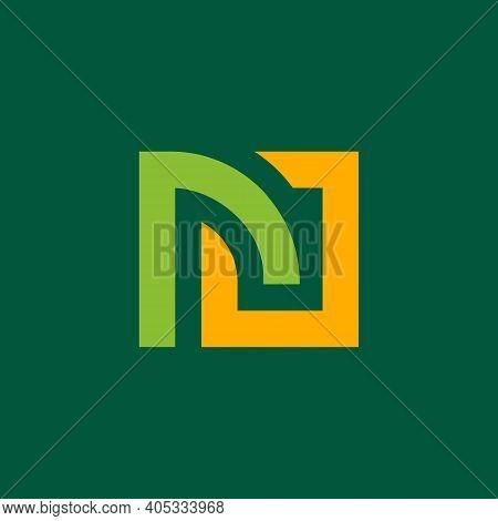 Initial Letter Rj Or Jr Logo Design, Vector Illustration