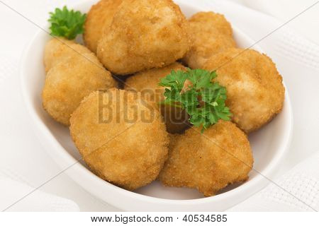 Breaded Deep Fried Mushrooms