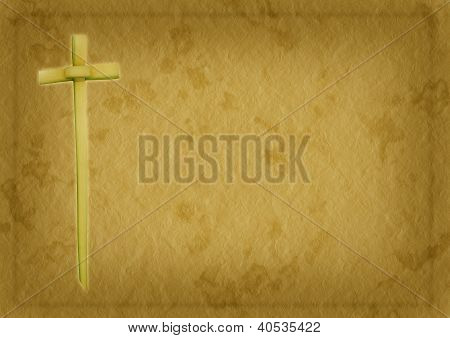 Palm Sunday Christian Background