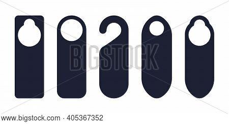 Door Hangers For The Doorknob To Mark Need Of Service Or Rest In Hotels, Resorts, Motels.