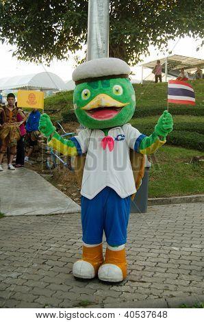 Man Dressed as Turtle, Thailand