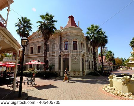 Johannesburg, South Africa - 28 Apr 2012: The Vintage House In Gold Reef City, Johannesburg, South A