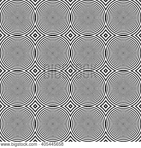 Chess Like Table Circles Abstract Black On Transparent Background Designer Cut