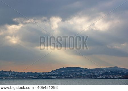 Storm Clouds Over Torbay From Torquay, Devon