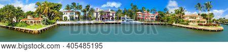 Collage About Luxury Mansion In Exclusive Part Of Fort Lauderdale Known As Small Venice
