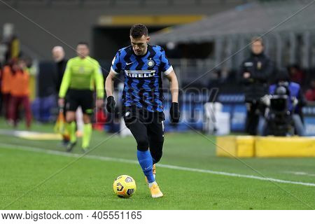 Milano, Italy. 26th January 2021 . Ivan Perisic Of Fc Internazionale  During The Coppa Italia Match