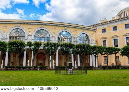 Decorated Gallery Of Gonzago, An Architectural And Frescos Ensemble Of The Pavlovsk Palace In Russia