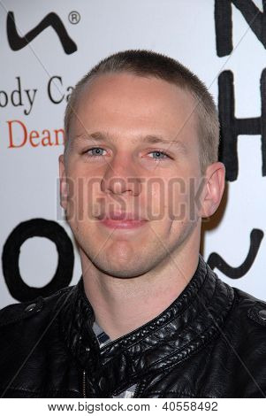 LOS ANGELES - DEC 12:  John Gammon arrives to the NOH8 4th Anniversary Party at Avalon on December 12, 2012 in Los Angeles, CA