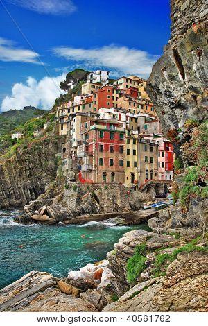 pictorial coast of Italy - Riomagiore