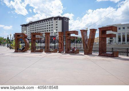 Reno, Nevada / Usa - May 30, 2020: The