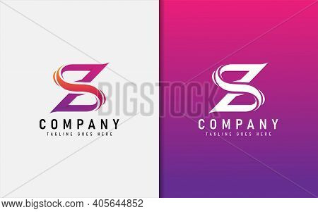 Z And S, Abstract Initial Logo Design. Usable For Business, Community, Foundation, Tech, Services Co