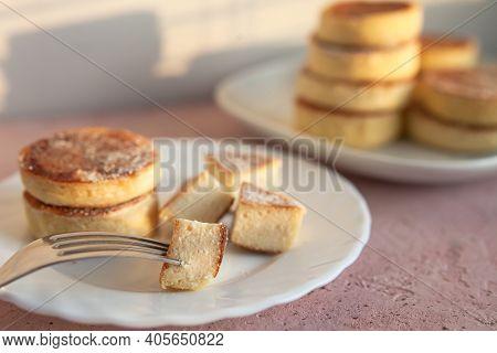 Homemade Pile Fluffy Souffle Pancake
