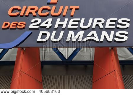 Le Mans, France - June 27, 2016: The 24 Hours Of Le Mans Is The World's Oldest Active Sports Car Rac