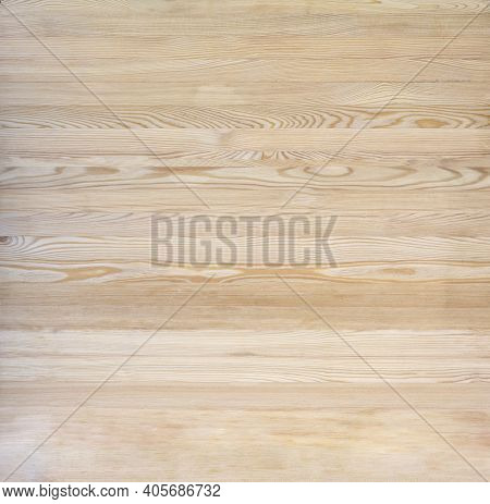 Natural Wood Brown Texture Background Made Of Horizontal Planks
