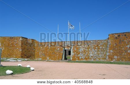 Uruguay, historic San Miguel Fort - Chuy border with Brazil