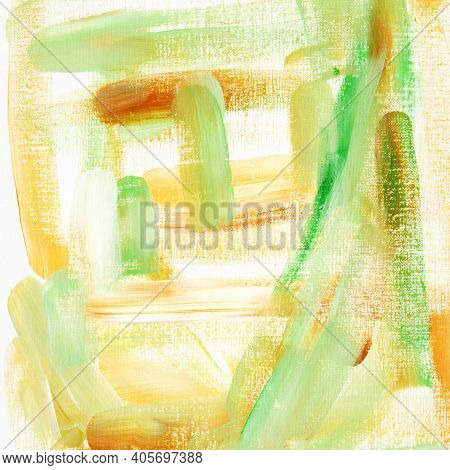 Abstract Art Painting Background. Modern Art. - Image