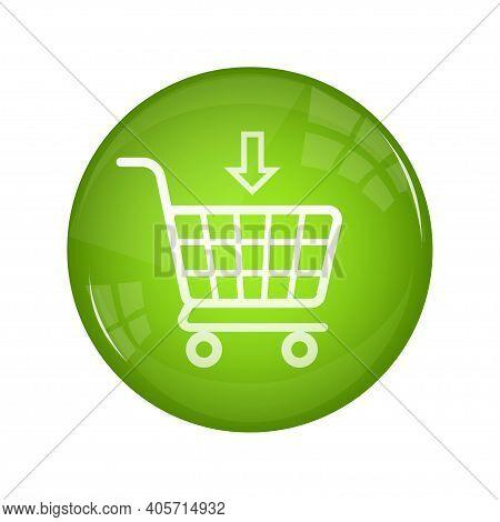 Buy Now Button For Banner Design. Arrow Icon Set. Web, Modern Design. Round Button. Vector Infograph