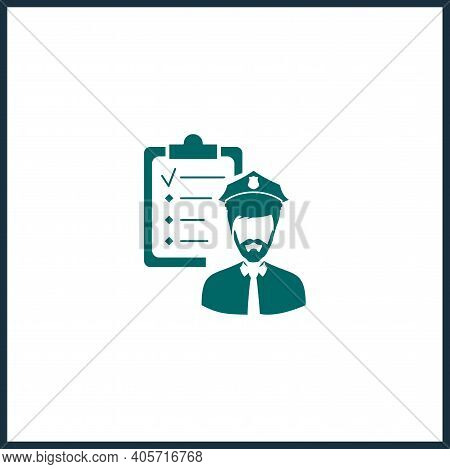 Hr Policies Vector Icon, Hr Policies Simple Isolated Icon