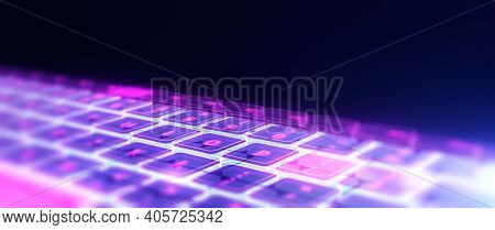 Abstract Technology Background. Modern Technology Background Design Concept. Modern Futuristic Techn