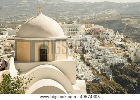Santorini Cupola