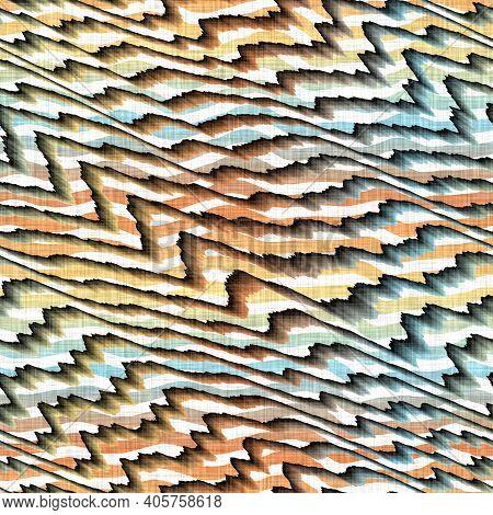 Watercolor Mottled Texture Background. Hand Drawn Irregular Abstract Seamless Pattern. Modern Linen