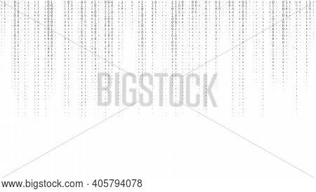 Sheet Of Binary Codes Listing Seamless Pattern