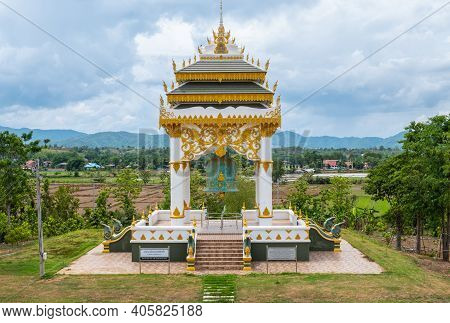 Chiang Rai, Thailand : 26-06-2019 : The Royal Bell In Phutthamonthon (buddhist Park) Build To Celebr