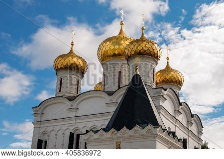 Cathedral Of The Life-giving Trinity In Holy Trinity Ipatiev Monastery. Ipatiev Monastery In The Wes