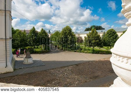 The Architectural Ensemble Of The Holy Trinity Ipatiev Monastery. Ipatiev Monastery In The Western P