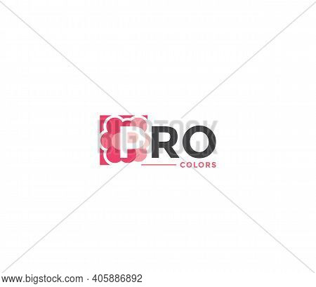 Pro Colors Company Business Modern Name Concept