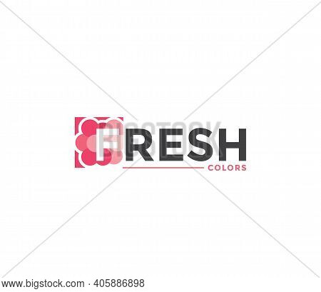 Fresh Colors Company Business Modern Name Concept